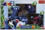 Puzzle Rio 2 2w1 48+24 w sklepie internetowym Booknet.net.pl