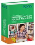Słownik duży szkolny niemiecko-polski, polsko-niemiecki 70 000 haseł i zwrotów. w sklepie internetowym Booknet.net.pl