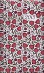 Kalendarz 2015 kieszonkowy B6 Różowe kwiaty w sklepie internetowym Booknet.net.pl