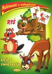 Ryś. Leśne zwierzęta. Malowanki z nalepkami w sklepie internetowym Booknet.net.pl