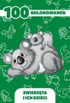 100 kolorowanek - zwierzęta i ich dzieci w sklepie internetowym Booknet.net.pl