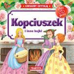 Kopciuszek i inne bajki. Gwiazdy czytają + płyta CD w sklepie internetowym Booknet.net.pl