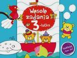 Wesołe zadania 3- latka Naklejaj i baw się! w sklepie internetowym Booknet.net.pl