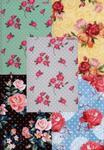 Brulion A5 Top-2000 w kratkę 96 kartek Kwiaty mix w sklepie internetowym Booknet.net.pl