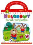 Kolorowy świat trzylatka Zeszyt 1 w sklepie internetowym Booknet.net.pl