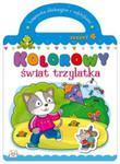 Kolorowy świat trzylatka Zeszyt 4 w sklepie internetowym Booknet.net.pl