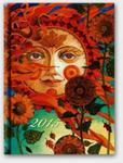 Kalendarz 2015 A5 21D Soft dzienny Słońce w sklepie internetowym Booknet.net.pl