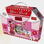 Minnie Mouse Puzzle Glam 50 elementów w sklepie internetowym Booknet.net.pl