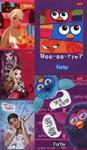 Pakiet 5 zeszytów A5 32 kartki Dla dziewczynek w sklepie internetowym Booknet.net.pl
