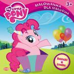 My Little Pony Malowanka dla malucha z naklejkami w sklepie internetowym Booknet.net.pl