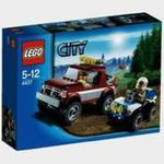 Lego City Pościg policyjny w sklepie internetowym Booknet.net.pl