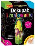 Dekupaż i malowanie Delikatne kwiaty w sklepie internetowym Booknet.net.pl