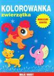 Zwierzątka. Kolorowanka. Moje hobby w sklepie internetowym Booknet.net.pl
