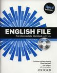 English File Pre-Intermediate Workbook with key + CD w sklepie internetowym Booknet.net.pl