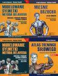 Modelowanie sylwetki metodą Delaviera 1 / Modelowanie sylwetki metodą Delaviera 2 / Atlas treningu siłowego / Mięśnie brzucha w sklepie internetowym Booknet.net.pl