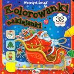 Kolorowanki naklejanki 2 Wesołych świąt w sklepie internetowym Booknet.net.pl