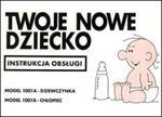 Twoje nowe dziecko - instrukcja obsługi w sklepie internetowym Booknet.net.pl
