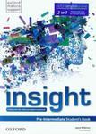 Insight Pre-Intermediate Student's Book Podręcznik dla szkół ponadgimnazjalnych w sklepie internetowym Booknet.net.pl