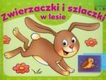 Zwierzaczki i szlaczki w lesie. Malowanka z literkami w sklepie internetowym Booknet.net.pl