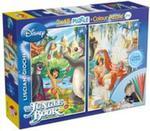 Puzzle dwustronne Księga Dżungli 2 w 1 48 w sklepie internetowym Booknet.net.pl