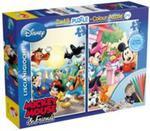 Puzzle dwustronne Myszka Miki 2 w 1 48 w sklepie internetowym Booknet.net.pl