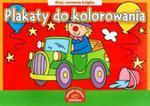 Plakaty do kolorowania Moja czerwona książka w sklepie internetowym Booknet.net.pl