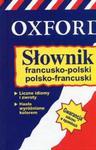 Słownik francusko-polski Oxford nowy w sklepie internetowym Booknet.net.pl
