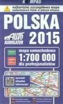 Polska 2015 Mapa samochodowa dla profesjonalistów 1:700 000 w sklepie internetowym Booknet.net.pl