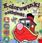 Kolorowanki naklejanki. Wesoła podróż. w sklepie internetowym Booknet.net.pl