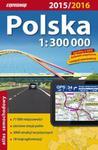 Polska. Atlas samochodowy. 1:300 000 w sklepie internetowym Booknet.net.pl