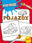 Pojazdy. Pokoloruj w sklepie internetowym Booknet.net.pl
