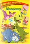 Malowanki z nalepkami Dinozaury Dinuś w sklepie internetowym Booknet.net.pl