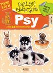 Naklejki edukacyjne. Psy w sklepie internetowym Booknet.net.pl