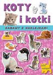 KOTY I KOTKI ZABAWA Z NAKLEJKAMI 101 w sklepie internetowym Booknet.net.pl