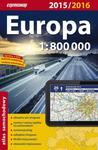Europa. Atlas samochodowy. 1:800 000 w sklepie internetowym Booknet.net.pl