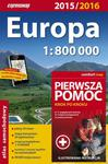 Europa atlas samochodowy 1:800 000 + pierwsza pomoc w sklepie internetowym Booknet.net.pl