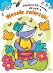 Malowanka wodna. Wesołe zwierzaki 4 w sklepie internetowym Booknet.net.pl