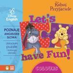 Poznaję angielskie słowa. Kubuś i Przyjaciele. Książka z puzzlami w sklepie internetowym Booknet.net.pl