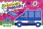 Kolorowe pojazdy 2 - Malowanki wodne, książeczka edukacyjna dla dzieci w sklepie internetowym Booknet.net.pl