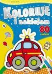 Koloruję i naklejam + 80 naklejek. Część 5 w sklepie internetowym Booknet.net.pl