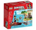 Lego Juniors Poszukiwanie skarbu piratów w sklepie internetowym Booknet.net.pl