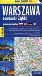 Warszawa Łomianki Ząbki plan miasta 1:26 000 w sklepie internetowym Booknet.net.pl