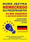 Kurs języka niemieckiego dla początkujących 33 dni radości z językiem niemieckim w sklepie internetowym Booknet.net.pl