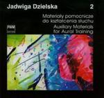 Materiały pomocnicze do kształecnia słuchu 2 w sklepie internetowym Booknet.net.pl
