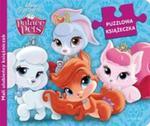 Puzzlowa książeczka. Disney Księżniczka. Palace Pets. Mali ulubieńcy księżniczek w sklepie internetowym Booknet.net.pl