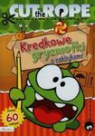 Cut The Rope Kredkowe gryzmołki z naklejkami w sklepie internetowym Booknet.net.pl
