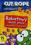 Cut The Rope Rakietowy zawrót głowy Łamigłówki z naklejkami w sklepie internetowym Booknet.net.pl