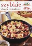 Szybkie dania obiadowe w sklepie internetowym Booknet.net.pl