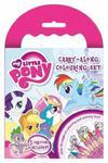 Kolorowanka z kredkami. My Little Pony w sklepie internetowym Booknet.net.pl