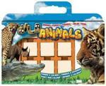 Pieczątki walizka 7 sztuk Zwierzęta dzikie w sklepie internetowym Booknet.net.pl